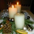 Weihnachtsbaum-Brand