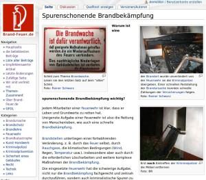 Die brand-feuer.de Website ist gut bebildert