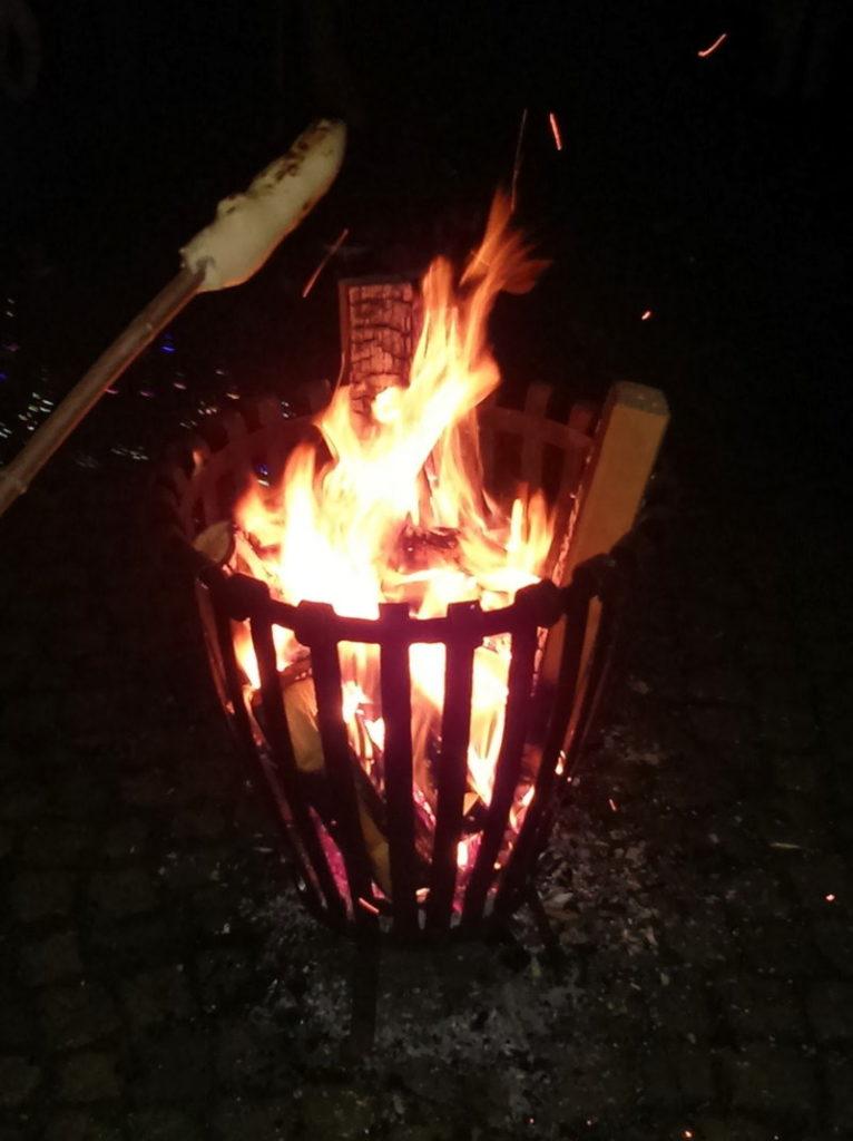 Brandgefahr Feuerschale