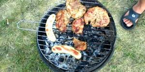 Brandgefahr beim Grillen