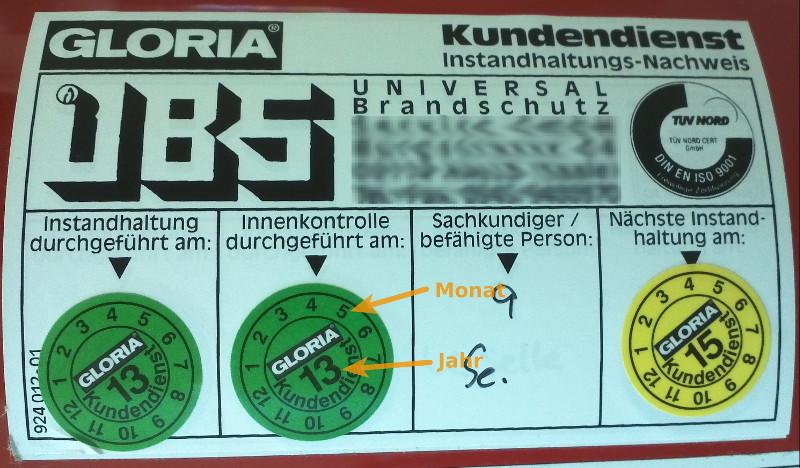 Relativ Feuerlöscher im Betrieb: Löschvermögen, Wartung, Umgang | KJ41