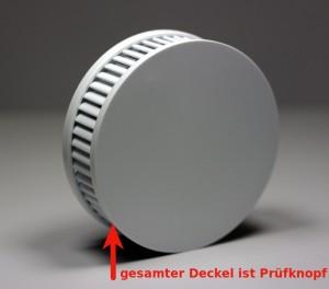 Prüfknopf des Pyrexx PX-1